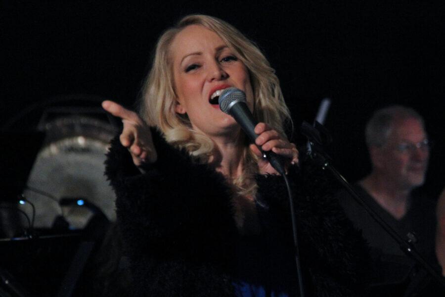 Solist Maria Mohn. FOTO: Tor Kristian Pettersen.